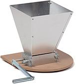 Фотография Двухвальцовая мельница/дробилка для солода с бункером и подставкой