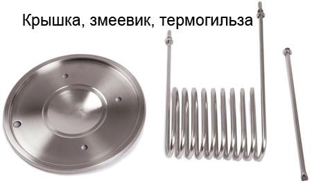 Крышка с чиллером и термогильзой