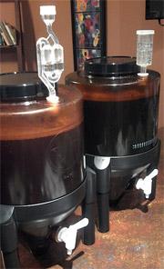 Конический ферментер для пива
